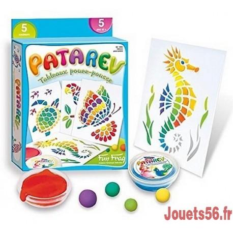 PATAREV TABLEAUX POUCE-POUSSE 5 POTS-jouets-sajou-56