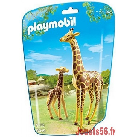 6640 GIRAFE ET GIRAFON-jouets-sajou-56