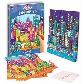 TABLEAU 3D GRATTE CIEL-jouets-sajou-56