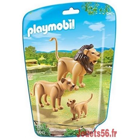 6642 FAMILLE DE LIONS-jouets-sajou-56