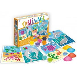 SABLIMAGE POISSONS DAUPHINS-jouets-sajou-56