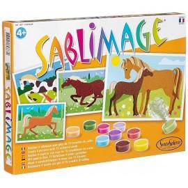 SABLIMAGE CHEVAUX -jouets-sajou-56