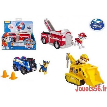 VEHICULE ET FIGURINE PAW PATROL-jouets-sajou-56
