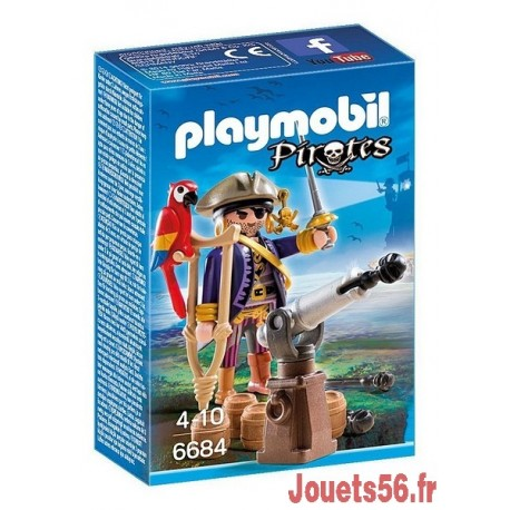 6684 CAPITAINE PIRATE AVEC CANON-jouets-sajou-56