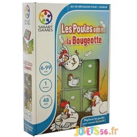 JEU LES POULES ONT LA BOUGEOTTE - Jouets56.fr - Magasins Jouets SAJOU du Morbihan en Bretagne