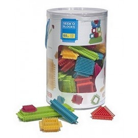 TUBE 60 PCS CONSTRUCTION SEEK O BLOCKS