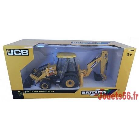 TRACTOPELLE METAL JBC 3CX 1/32E-jouets-sajou-56