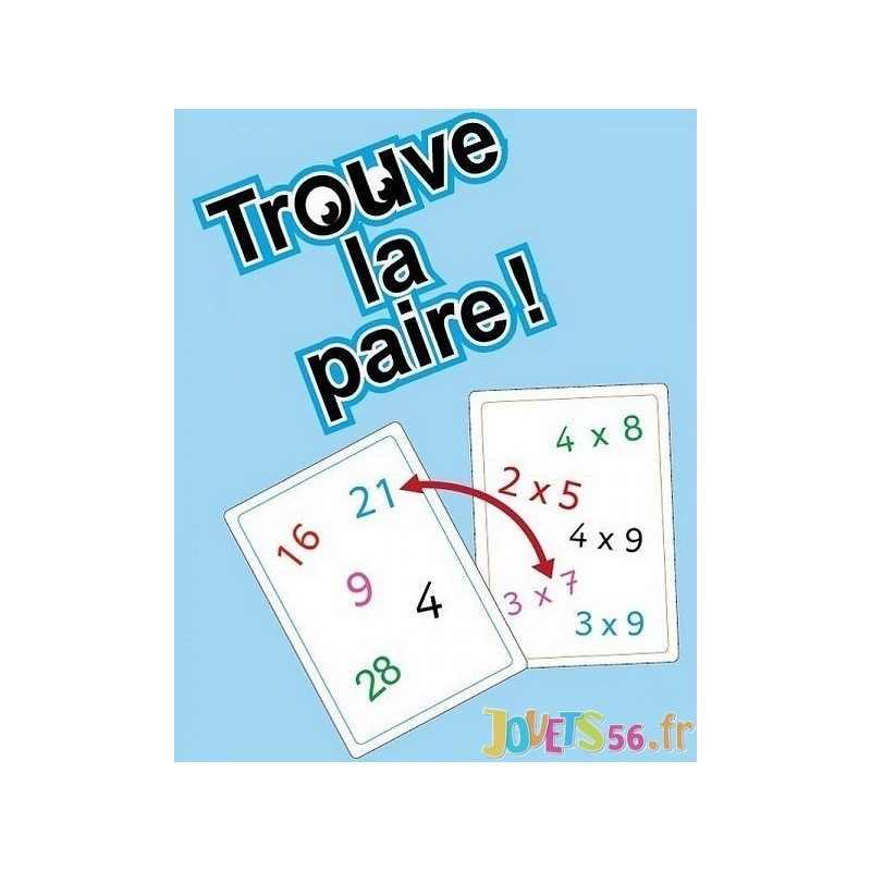 Jeu tam tam multimax niveau 1 table multiplication for Jeu des tables