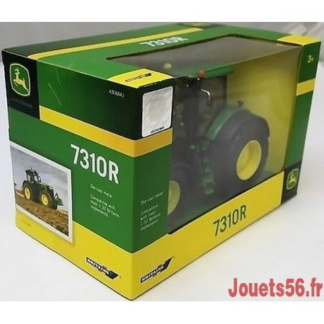 TRACTEUR METAL JOHN DEERE 7310R 1/32E-jouets-sajou-56
