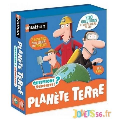 QUESTIONS REPONSES - PLANETE TERRE - Jouets56.fr - Magasins Jouets SAJOU du Morbihan en Bretagne