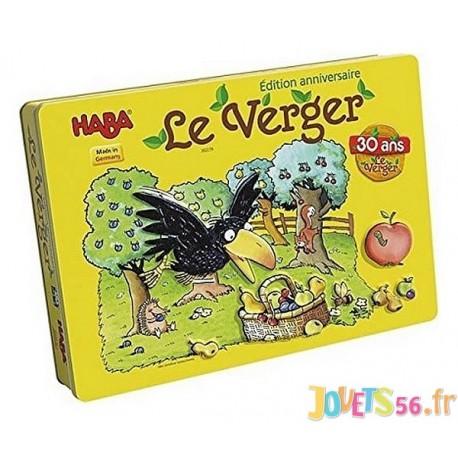 LE VERGER EDITION 30 ANS BOITE METAL - Jouets56.fr - Magasins Jouets SAJOU du Morbihan en Bretagne