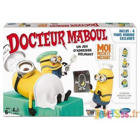 JEU DOCTEUR MABOUL LES MINIONS - Jouets56.fr - Magasins Jouets SAJOU du Morbihan en Bretagne