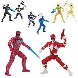 PACK 2 FIGURINES POWER RANGERS ASST