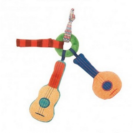 HOCHET GUITARE LES ZIG ET ZAG-jouets-sajou-56