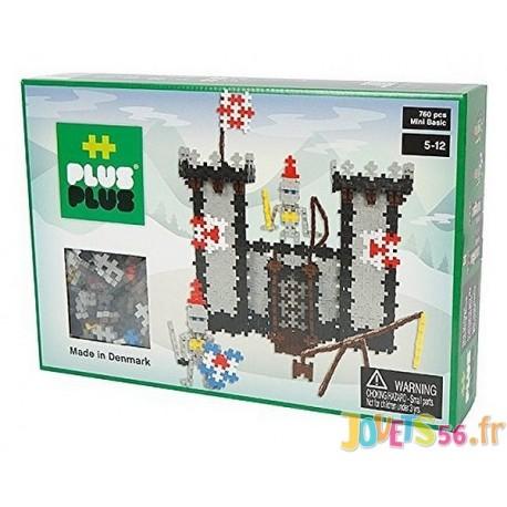 PLUS PLUS BOX MINI BASIC CHATEAU FORT 760 PC - Jouets56.fr - Magasins Jouets SAJOU du Morbihan en Bretagne