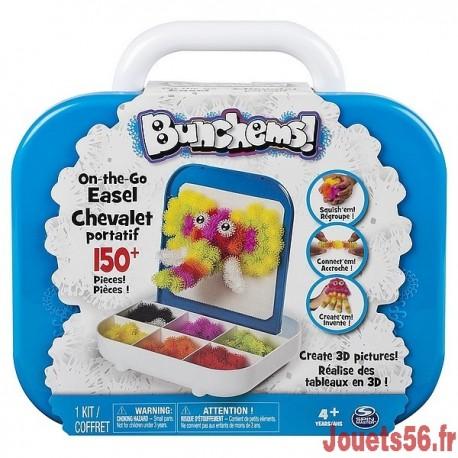 BUNCHEMS VALISETTE CHEVALET-jouets-sajou-56