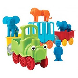 SMARTMAX MY FIRST ANIMAL TRAIN 25PCES
