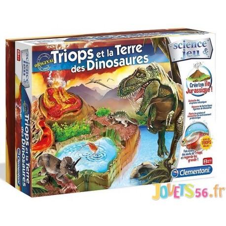 TRIOPS ET LA TERRE DES DINOSAURES - Jouets56.fr - Magasins Jouets SAJOU du Morbihan en Bretagne