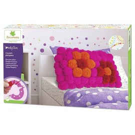 COUSSIN POMPONS LOVELY BOX XL