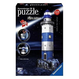 PUZZLE 3D PHARE NIGHT EDITION 216PC