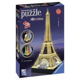 PUZZLE 3D TOUR EIFFEL NIGHT EDITION 216PCES - Jouets56.fr - Magasins Jouets SAJOU du Morbihan en Bretagne