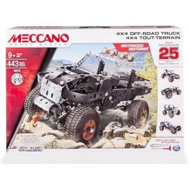 TOUT TERRAIN 24 MODELES MOTORISES MECCANO