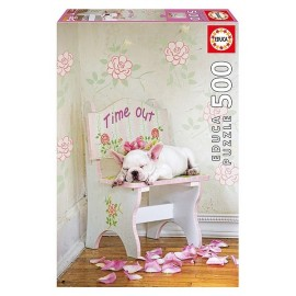 PUZZLE LA SIESTE LISA JANE 500PCES-jouets-sajou-56