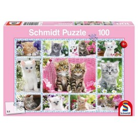 PUZZLE CHATONS 100PCES-jouets-sajou-56