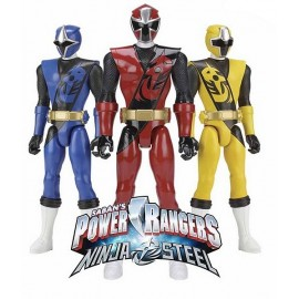 FIGURINE 30CM POWER RANGERS NINJA STEEL ASST