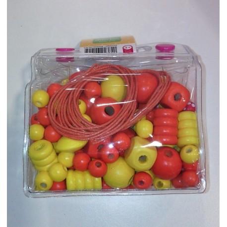 MINI SAC PERLES BOIS JAUNE-jouets-sajou-56