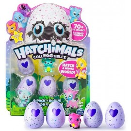PACK DE 5 HATCHIMALS COLLEGGTIBLES