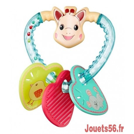 HOCHET COEUR SOPHIE LA GIRAFE-jouets-sajou-56