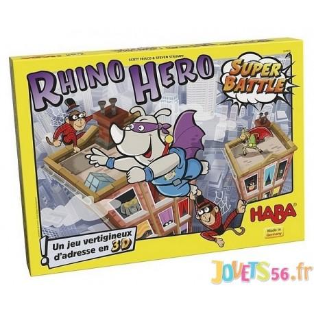 JEU RHINO HERO SUPER BATTLE - Jouets56.fr - Magasins Jouets SAJOU du Morbihan en Bretagne
