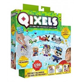 QIXELS RECHARGE METALLIQUES 1200 PCES