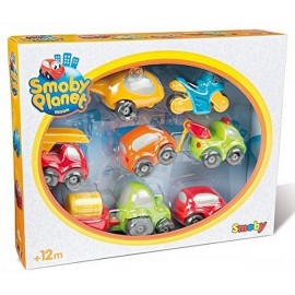 COFFRET 7 VEHICULES VROOM PLANET