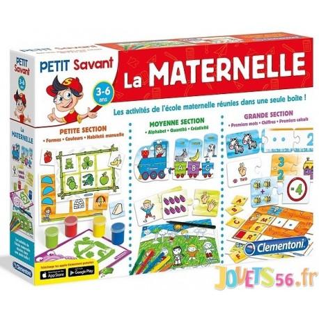 LA MATERNELLE PETIT SAVANT 3 A 6 ANS - Jouets56.fr - Magasins Jouets SAJOU du Morbihan en Bretagne