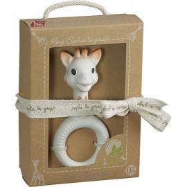 ANNEAU DENTITION RING SO PURE SOPHIE LA GIRAFE-jouets-sajou-56