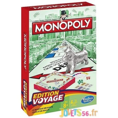 MONOPOLY VOYAGE - Jouets56.fr - Magasins Jouets SAJOU du Morbihan en Bretagne