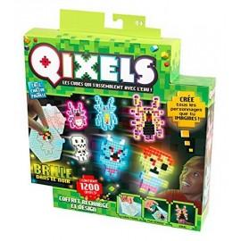 QIXELS COFFRET RECHARGE ET DESIGN 1200Q GLOW-jouets-sajou-56
