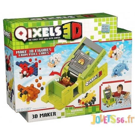 QIXELS STUDIO 3D - Jouets56.fr - Magasins Jouets SAJOU du Morbihan en Bretagne