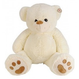 PELUCHE OURS BEIGE 100CM