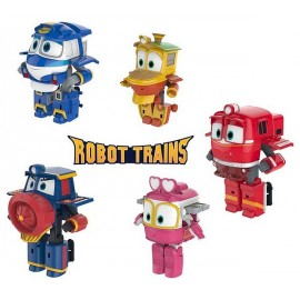 FIGURINE ROBOT TRAIN TRANSFORMABLES ASST1