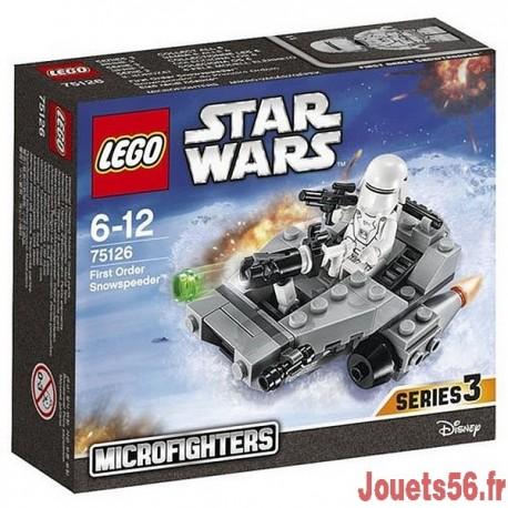 75126 LE SNOWSPEEDER DU PREMIER ORDRE STAR WARS-jouets-sajou-56