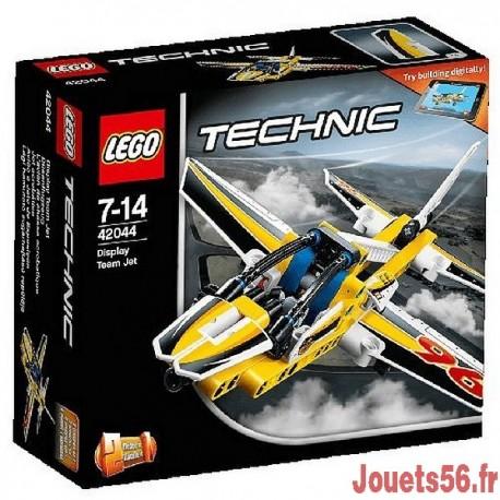 42044 AVION DE CHASSE ACROBATIQUE TECHNIC-jouets-sajou-56