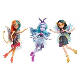 POUPEES 30CM CREATURES VOLANTES MONSTER HIGH GARDEN GHOULS