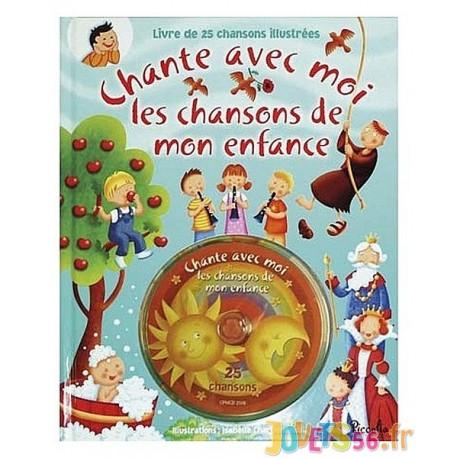 CD CHANSONS DE MON ENFANCE CHANTE AVEC MOI - Jouets56.fr - Magasins Jouets SAJOU du Morbihan en Bretagne