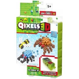 QIXELS RECHARGE 3D INVASION INSECTES 300 PCES