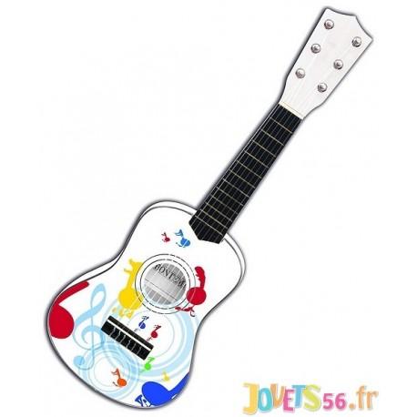 GUITARE CLASSIQUE BOIS 55CM - Jouets56.fr - Magasins Jouets SAJOU du Morbihan en Bretagne