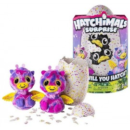 HATCHIMALS SURPRISE ROSE JAUNE