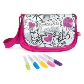 SAC SEQUIN OVALE A COLORIER COLOR ME MINE